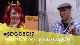 Gabe Hudson interviewed by Christy Jane at Comic-Con 2017
