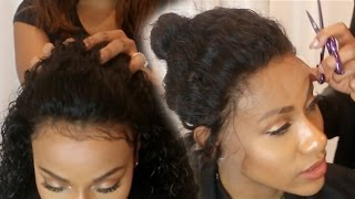 Sew in your Lace Front (NO GLUE)