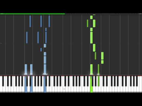 Monster Girl Quest OST ~ Four Heavenly Knights / Sitenno (Synthesia MIDI)