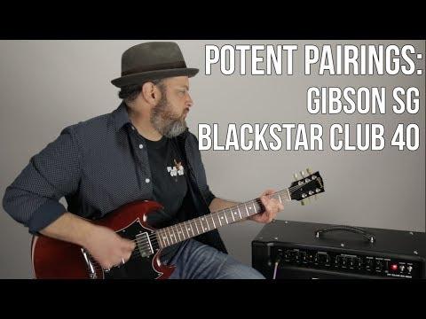 Gibson SG and Blackstar Club 40 - Potent Pairings: Thursday Gear