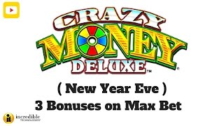( New Year Eve 2017 Massive Win ) IT - Crazy Money Deluxe - 3 Bonuses on Max Bet