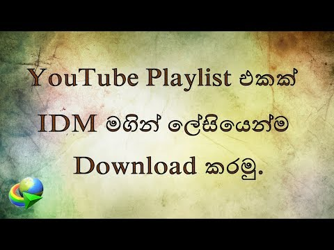 How to Download Complete YouTube Playlist Using IDM Easiest Way