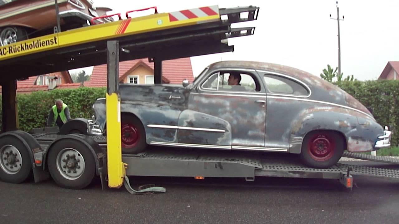 1948 pontiac silver streak 8 roll off youtube