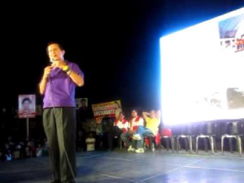 Roilo Golez, speech, Rally, Cubic, Bgy Merville, 9 April  2010 (3)