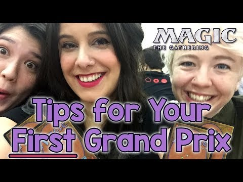 What to Expect at your FIRST Grand Prix! A Helpful Guide for New Magic the Gathering Players (MtG)
