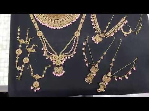 pink-wedding-jewelry-dulhan-set
