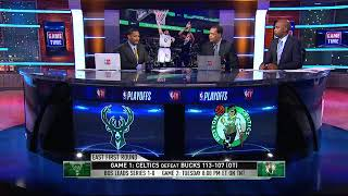 Bucks vs Celtics Game 2 Preview | NBA Gametime | April 16, 2018