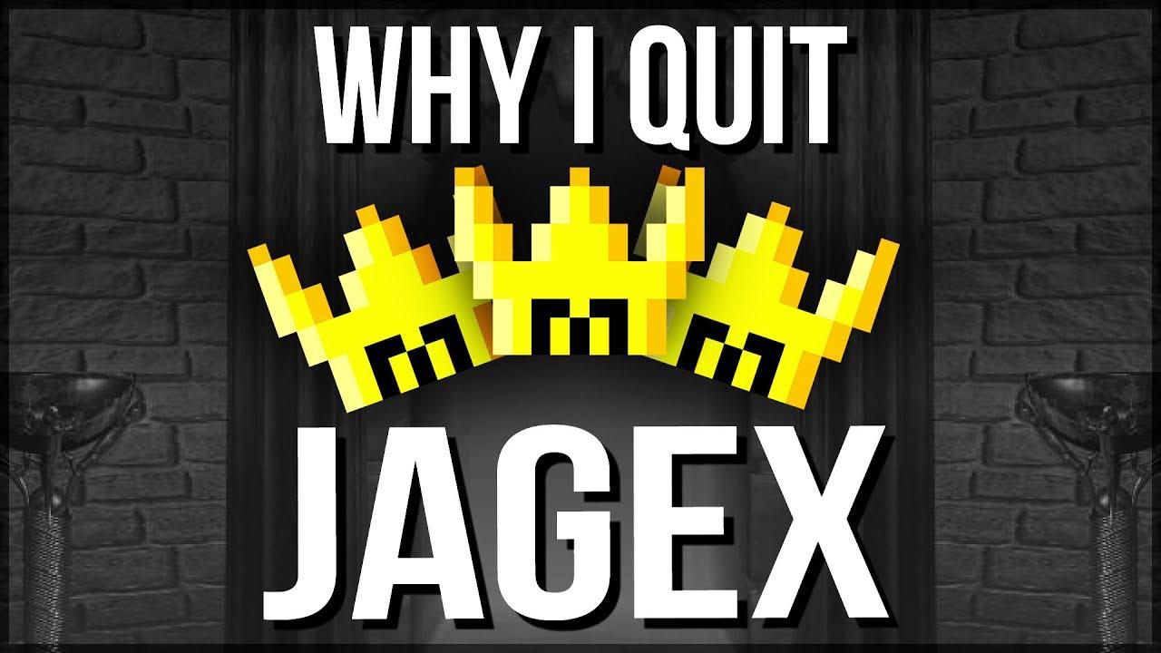 Why I Quit Jagex