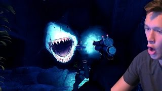 THIS GAME IS TERRIFYING! (Depth: Sharks vs Divers)