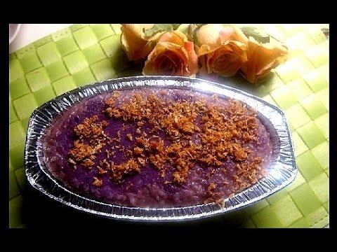 Ube malagkit rice biko youtube forumfinder Images