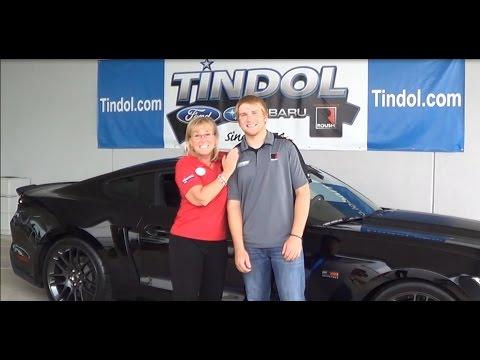 Natalie Tindol & ROUSH Fenway Racing Driver Chris Buescher