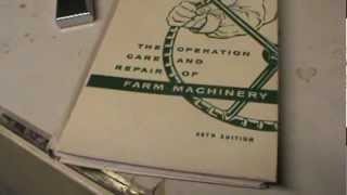 Farm Machinery Operation and care repair Guide 1957