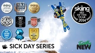 2014 Line Sick Day Ski Series Video - LIGHTER, QUICKER, FUNNER! TOTALLY NEW AWARD WINNING SKIS!