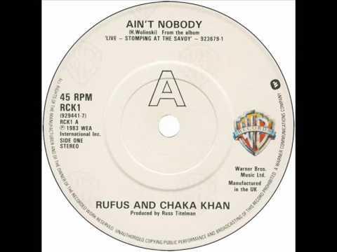 Rufus & Chaka Khan - Ain't Nobody (Dj ''S'' Remix)