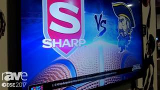 """DSE 2017׃ Sharp Highlights PN-LE901 90"""" Commercial Display with Integrated Tuner"""