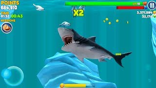 Hungry Shark Evolution Megalodon Android Gameplay