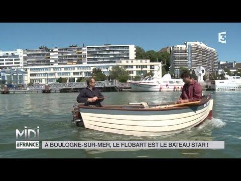MADE IN FRANCE : À Boulogne-sur-Mer, le flobart est le bateau star !