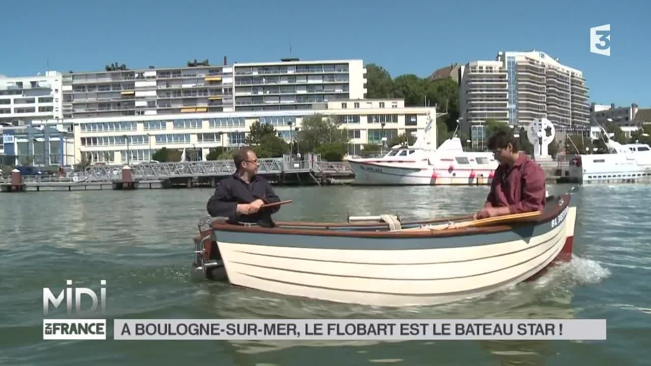made in france boulogne sur mer le flobart est le bateau star youtube. Black Bedroom Furniture Sets. Home Design Ideas