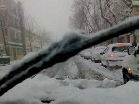 Port saint Louis du Rhône sous la neige 07.01.09