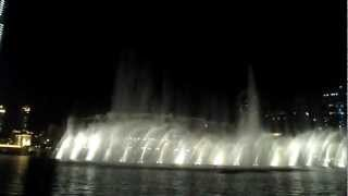 Dancing Fountains Dubai , Burj Khalifa (Michael Jackson - Thriller)