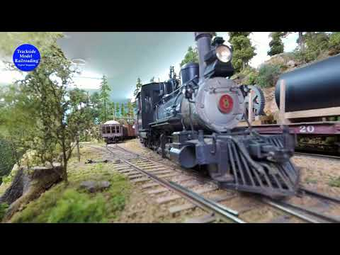 One of The Best On3 Narrow Gauge Model Railroad You Will Ever See. This is One Great Model Railroad.