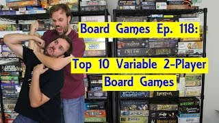 Top 10 Variable 2-Player Board Games
