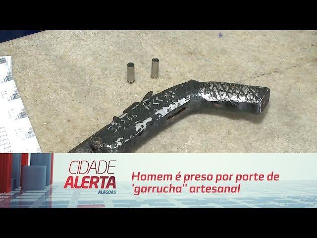 Atalaia: homem é preso por porte de 'garrucha'' artesanal