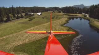 RC Electra Flying High Def. Over Salt Spring Island, BC