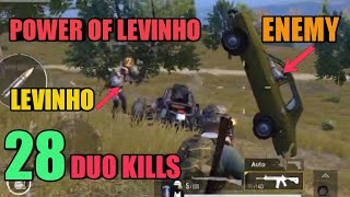 Band of Brothers | Levinho | DUO SQUAD | 28 DUO KILLS | PUBG Mobile