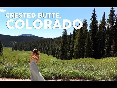 CRESTED BUTTE COLORADO  // With DJI Mavic Drone