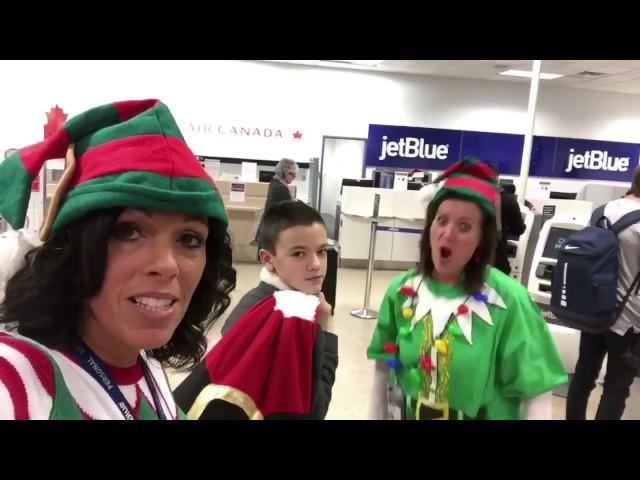 Christmas Magic at SLC Airport: Blue Hero