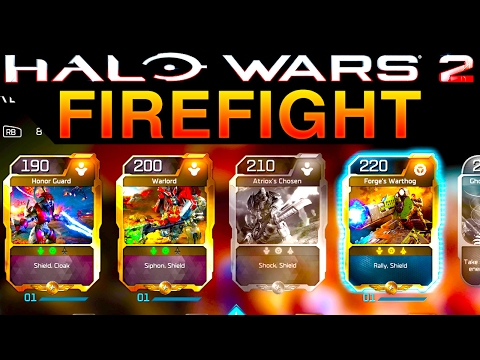 Halo Wars 2 - FULL GAME CO-OP Blitz Firefight Gameplay (Xbox One)