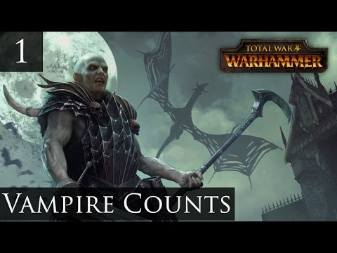 Total War Warhammer Vampire Counts Campaign Part 1