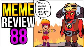 Why New Brawler Amber Was Sent to HELL | Brawl Stars Meme Review #88