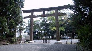静岡県 護国神社 柚木公園 の風景