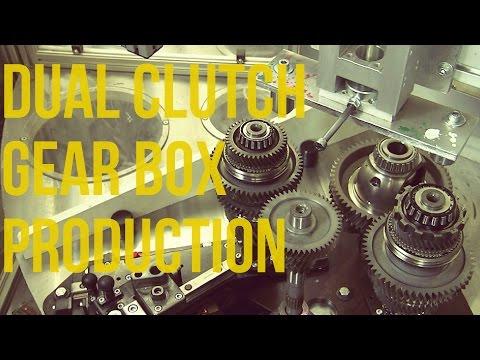Mercedes Benz Dual Clutch Gear Box Production