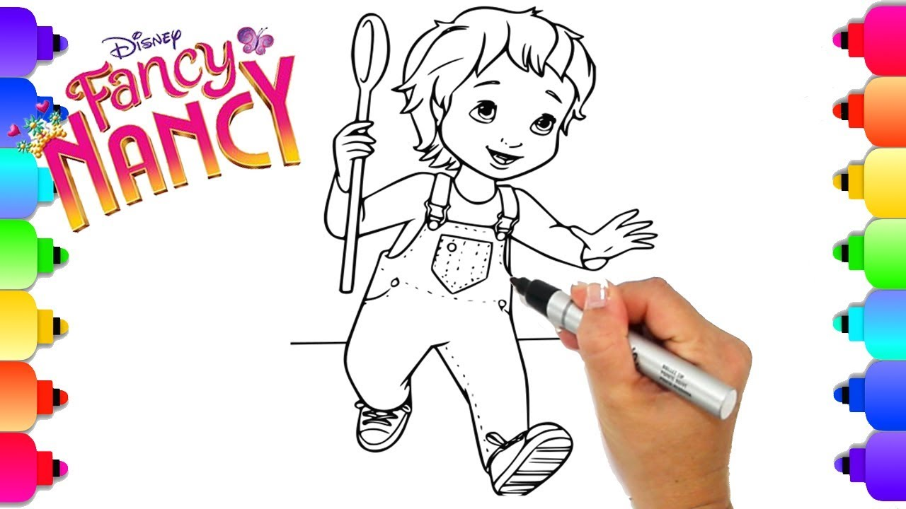 Learn How To Draw Jojo From Disney S Hit New Show Fancy Nancy