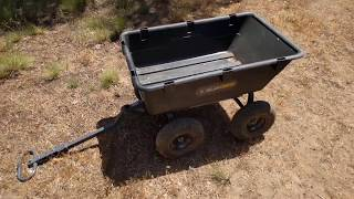 Review of the 1200lb Gorilla Cart.  Is it truly a heavy duty work horse?