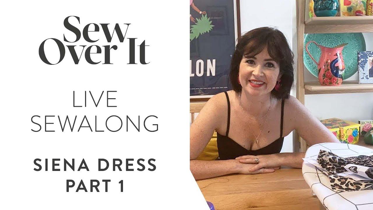 LIVE Stay Home and Sewalong: Siena Dress pt 1