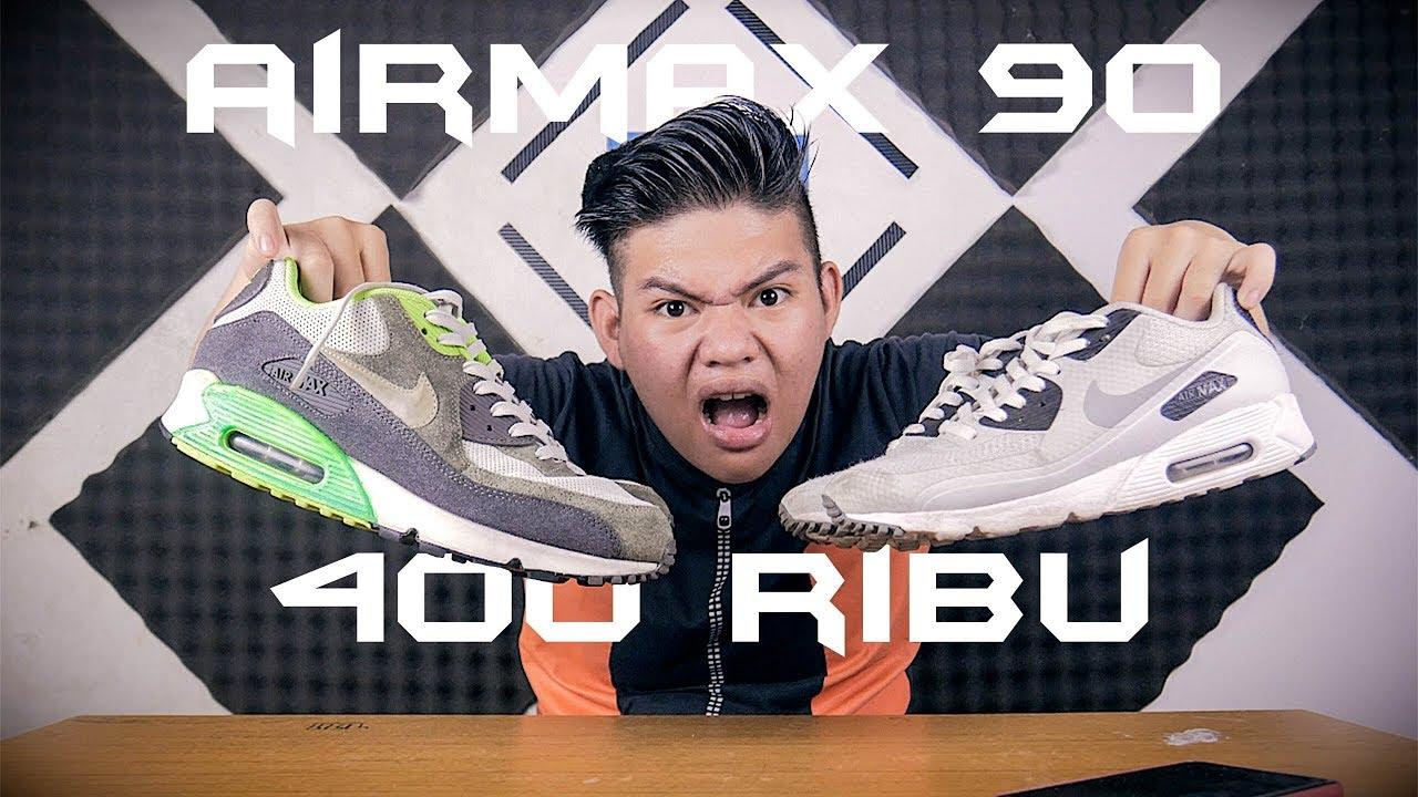 nike Air Max 90 cuma 400 ribu !!! - YouTube