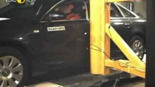 Crash Test Audi A6 - Euro NCAP - 2004