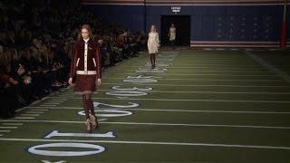 Hilfiger's American football love story on NY runway