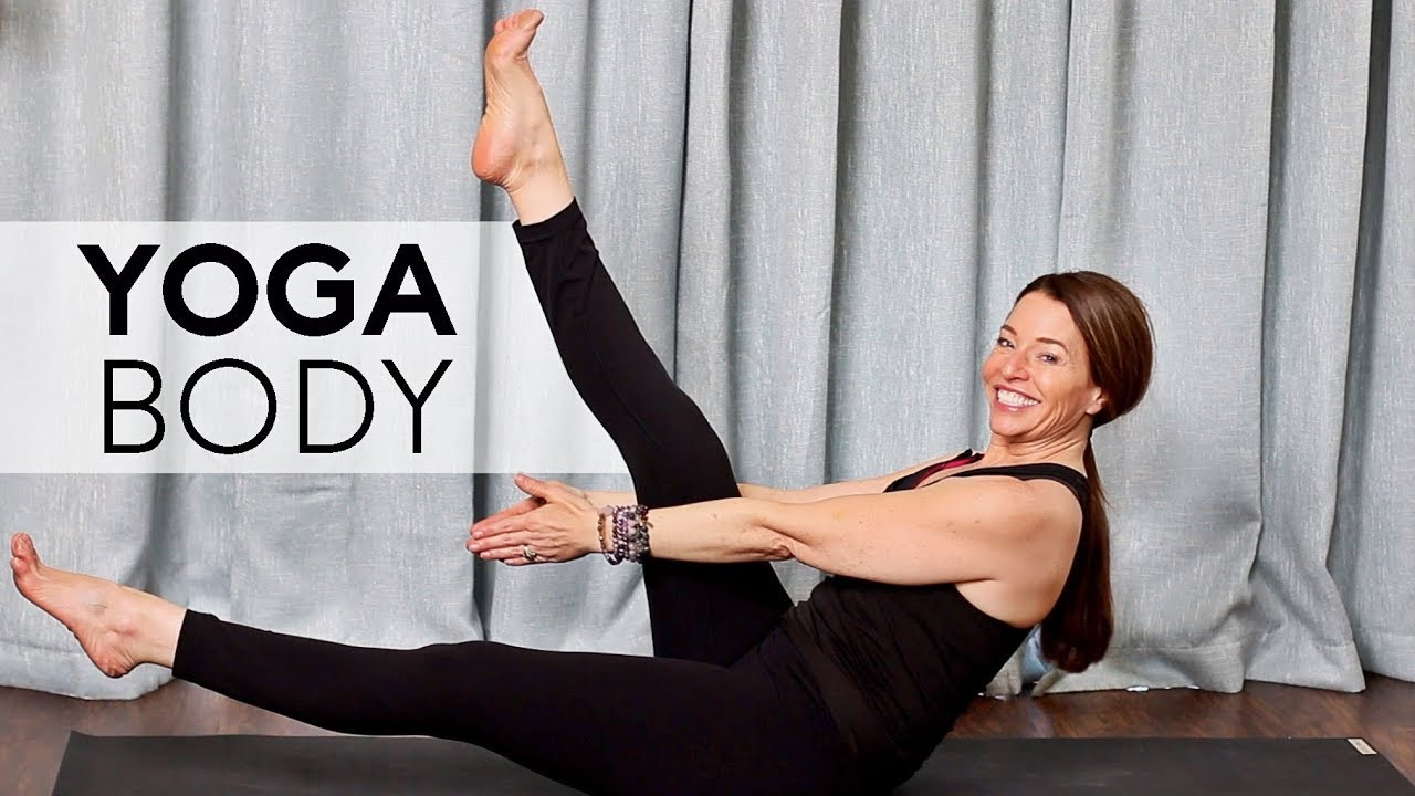 Total Body Yoga Workout (40 min Class) | Fightmaster Yoga Videos