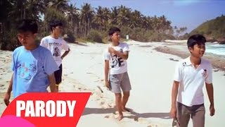 One Direction - What Makes You Beautiful ( Video Klip Parodi )