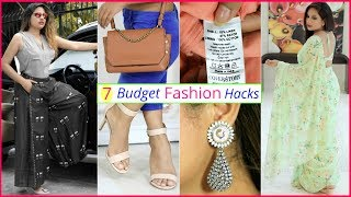 7 BUDGET Fashion HACKS To Look SUPER Stylish | #Teenager #LifeHacks #Anaysa #ShrutiArjunAnand