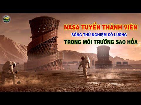 NASA tuyển thành viên sống thử nghiệm có lương trong môi trường Sao hỏa |Top thú vị |