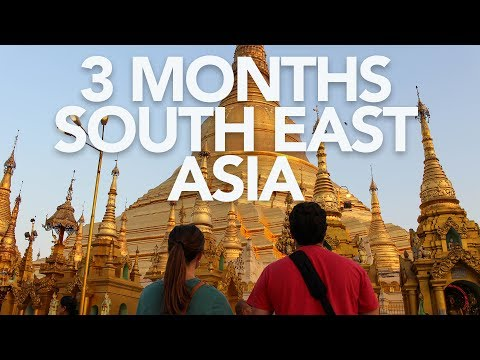 THREE MONTHS IN SOUTHEAST ASIA