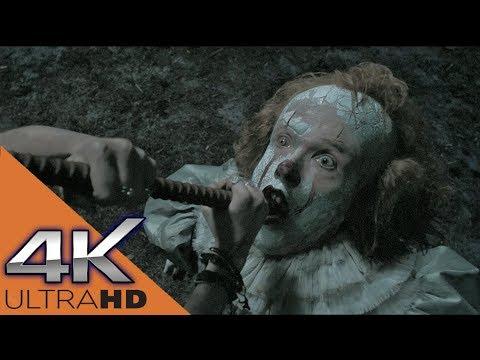 Смерть Клоуна Пеннивайза «4К» | Оно (2017)