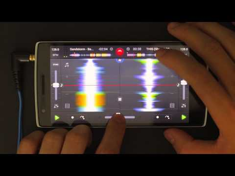 DJ Ravine DJing on djay 2 for Android on a OnePlus One (Electro/Bounce/Pounding House)