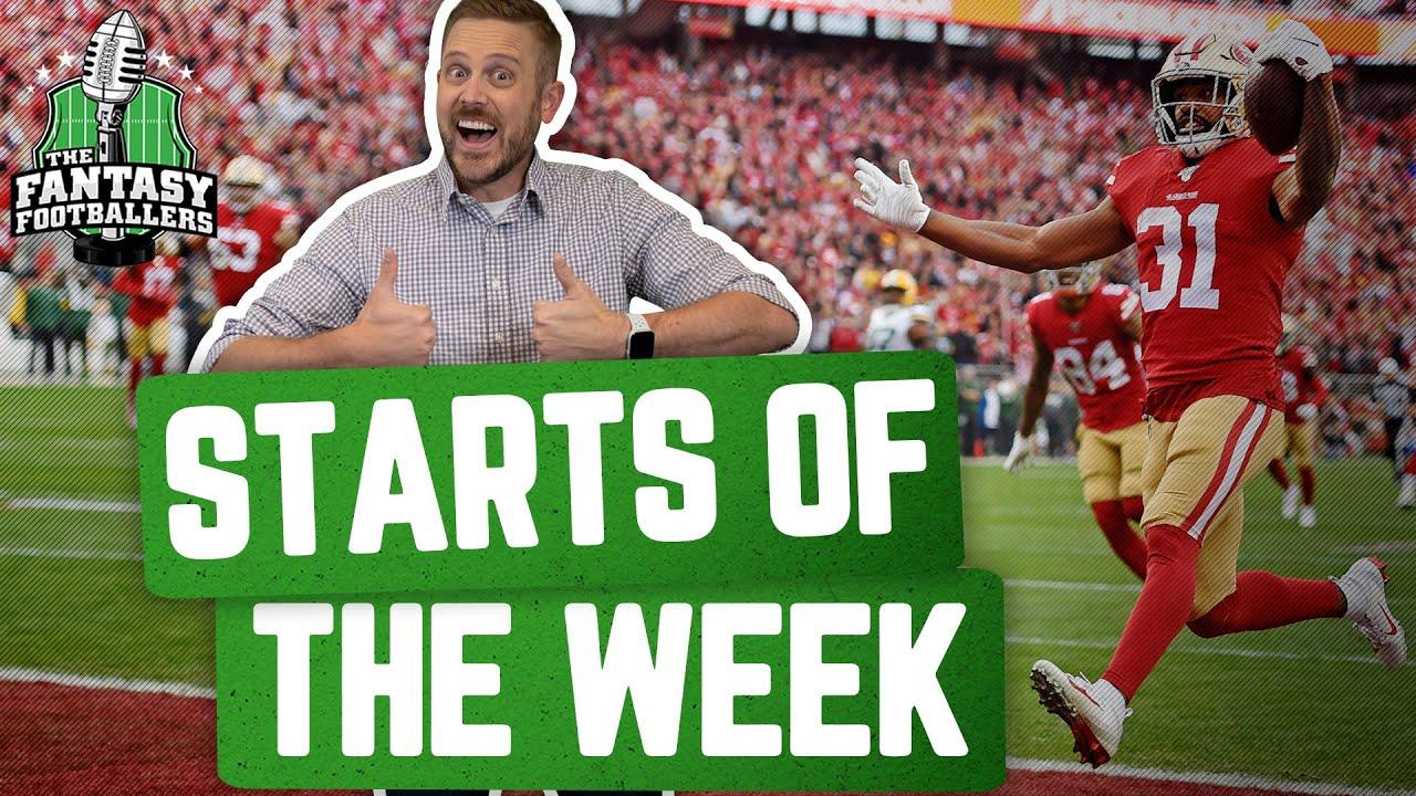 Fantasy Football 2020 - Starts of the Week + Week 2 Breakdown, JuJu Reporting - Ep. #943